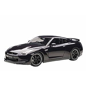 AUTOart 1/12 日産 GT-R (R35) スペックV (アルティメイト オパール ブラック)