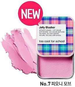 トゥークールフォ―スクール(too cool for school) Check Jelly Blusher 8g (#7 ピオニーモーブ) [並行輸入品]