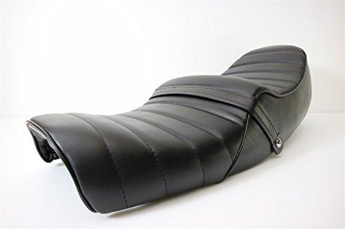 高級 高品質 新品 タックロール シート CB400F黒 皮/ タックロールシート レザー 398/408 旧CB400F ヨンフォア
