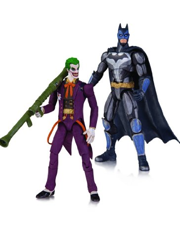 インジャスティス: 神々の激突/ バットマン vs ジョーカー 3.75インチ アクションフィギュア 2パック
