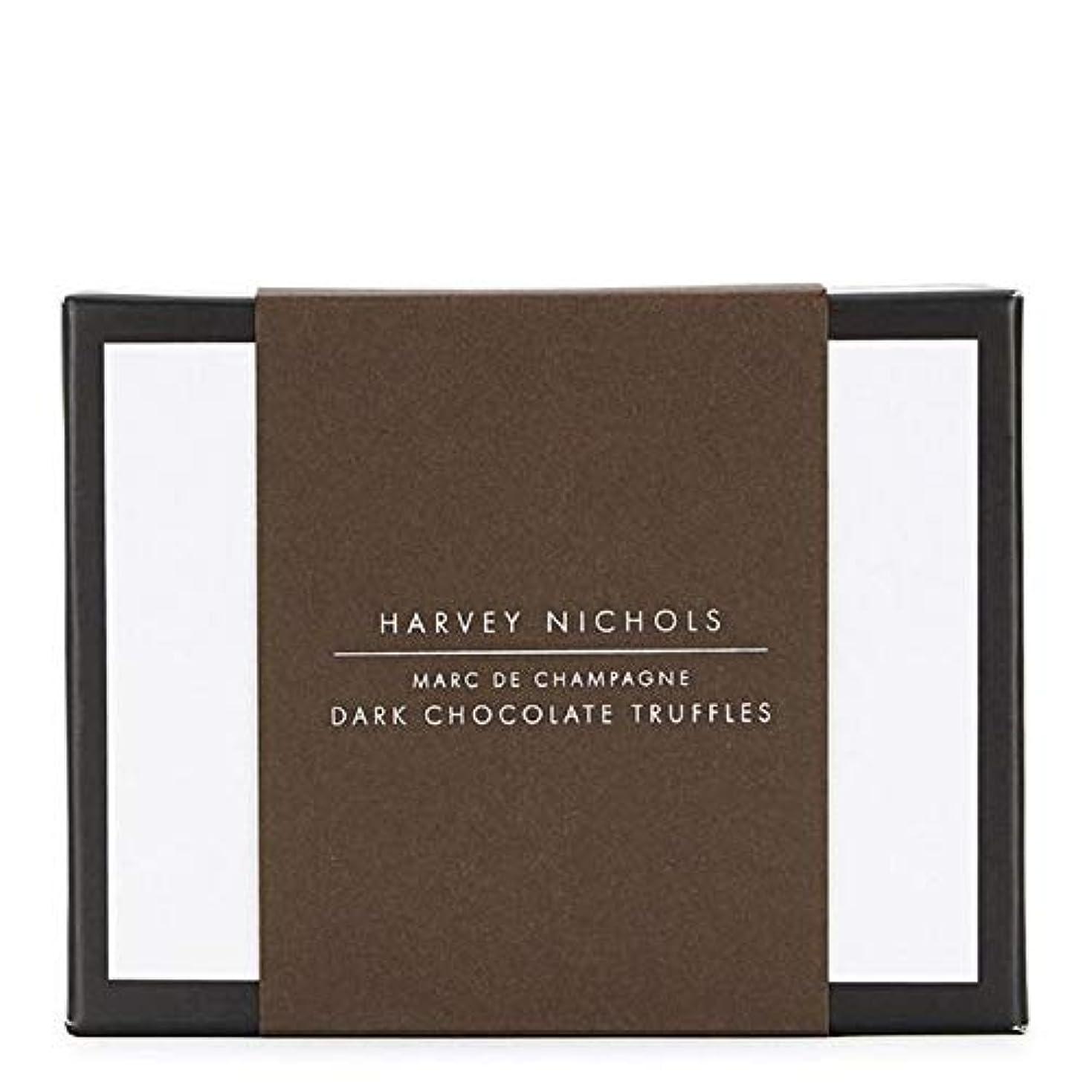 爆発する悪性腫瘍ナサニエル区[Harvey Nichols ] ハーヴィー?ニコルズダークチョコレートシャンパントリュフ125グラム - Harvey Nichols Dark Chocolate Champagne Truffles 125g [...