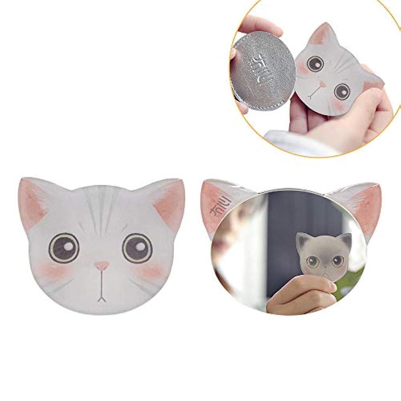 ホイップエキサイティングカウボーイiitrust 手鏡 コンパクト 猫柄 8パタン 収納袋付き 割れない 鏡 おしゃれ コンパクトミラー ハンドミラー かわいい 手鏡 猫 手鏡 かわいい iitrust並行輸入品