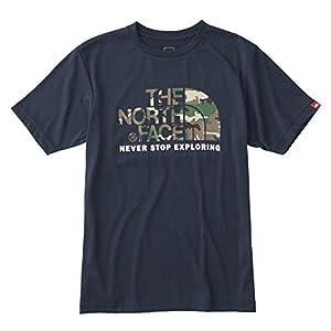 (ザ・ノース・フェイス)THE NORTH FACE(ザ・ノース・フェイス) ショートスリーブカモフラージュロゴティー NT31622 CM コズミックブルー XL