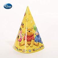 パーティー帽子キャッププーさんテーマ子供好意ハッピー誕生日パーティー用品装飾ウィニークマパー