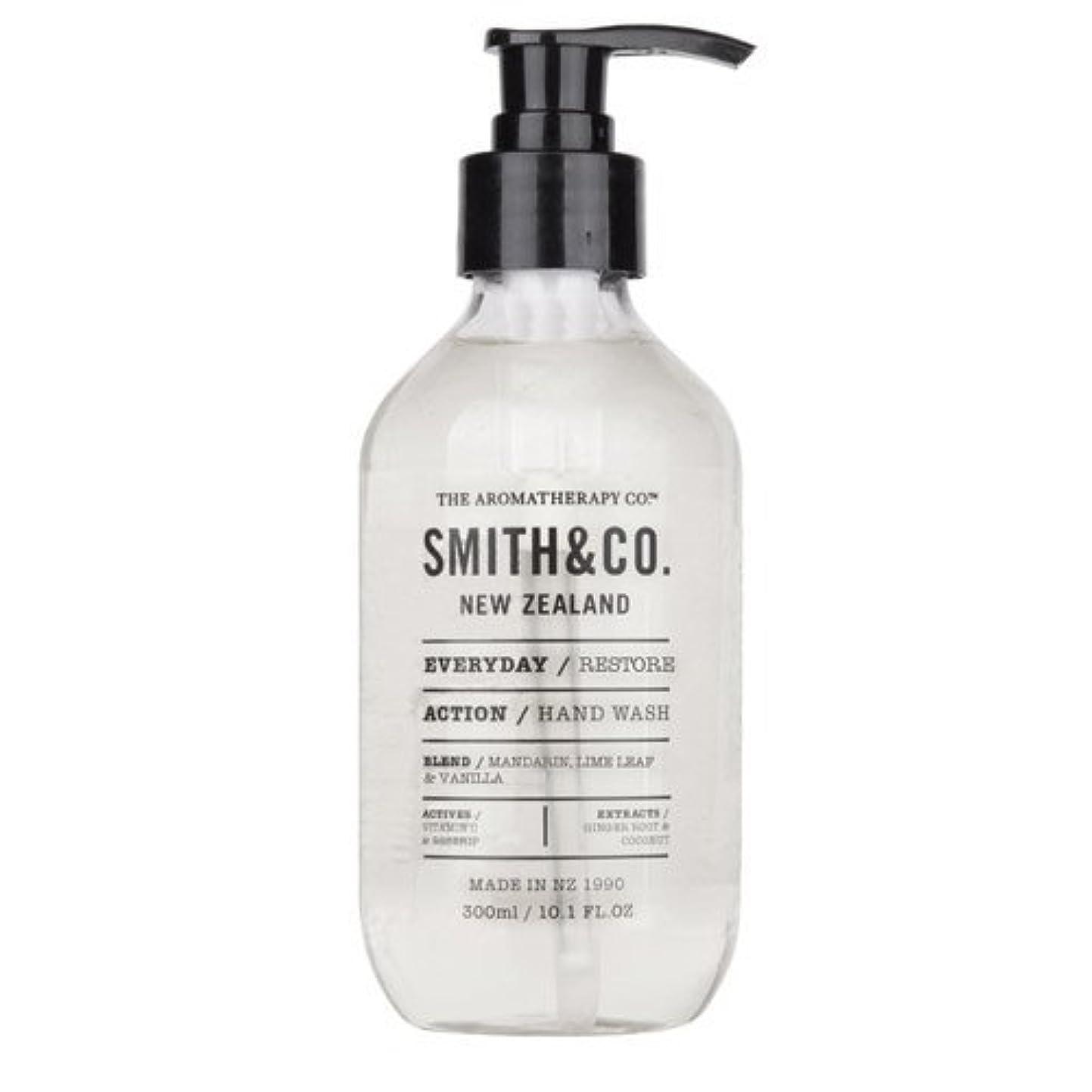 手つかずの潤滑するフォアマンSmith&Co. スミスアンドコー Hand&Body Wash ハンド&ボディウォッシュ Restore リストア
