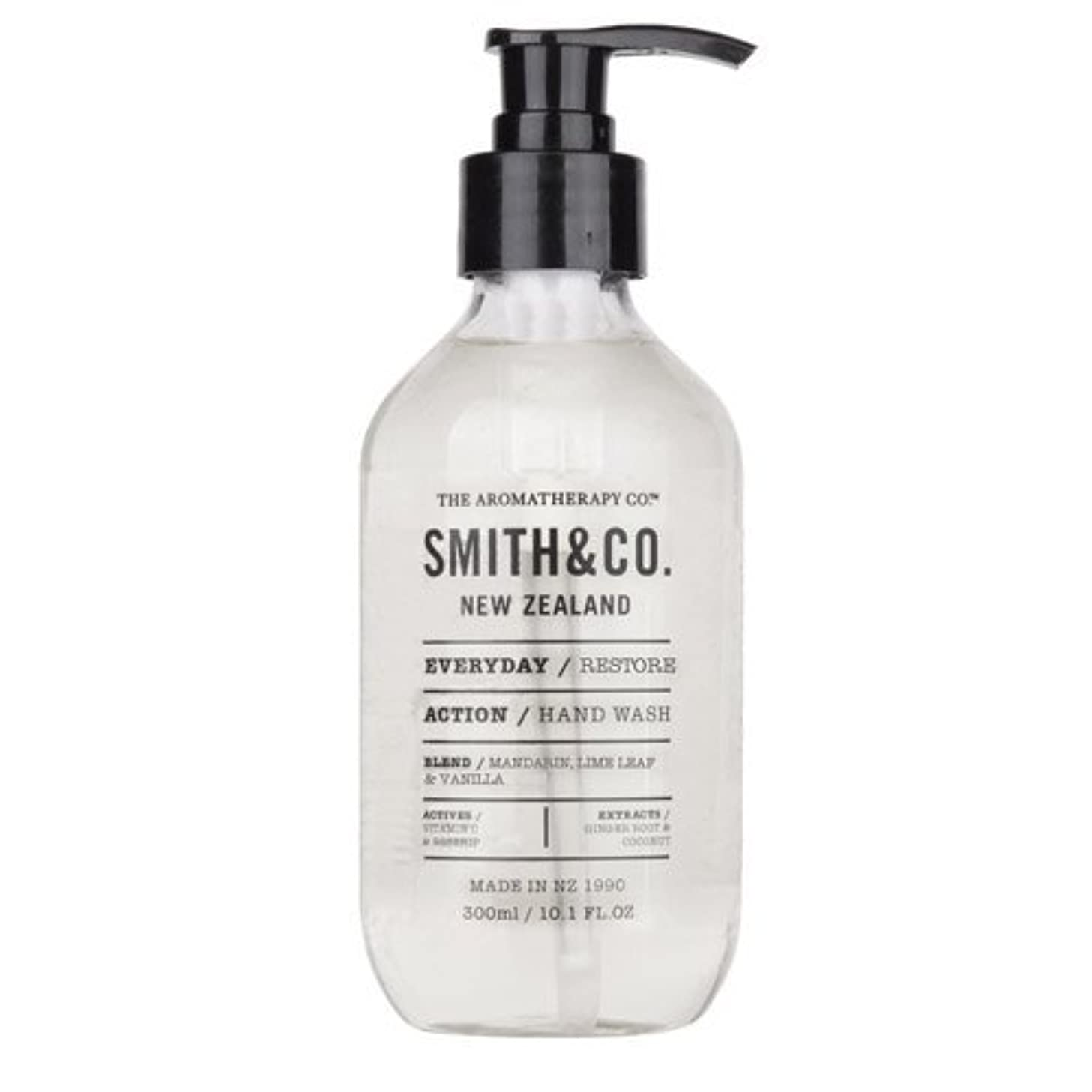 冷淡なひどい形式Smith&Co. スミスアンドコー Hand&Body Wash ハンド&ボディウォッシュ Restore リストア