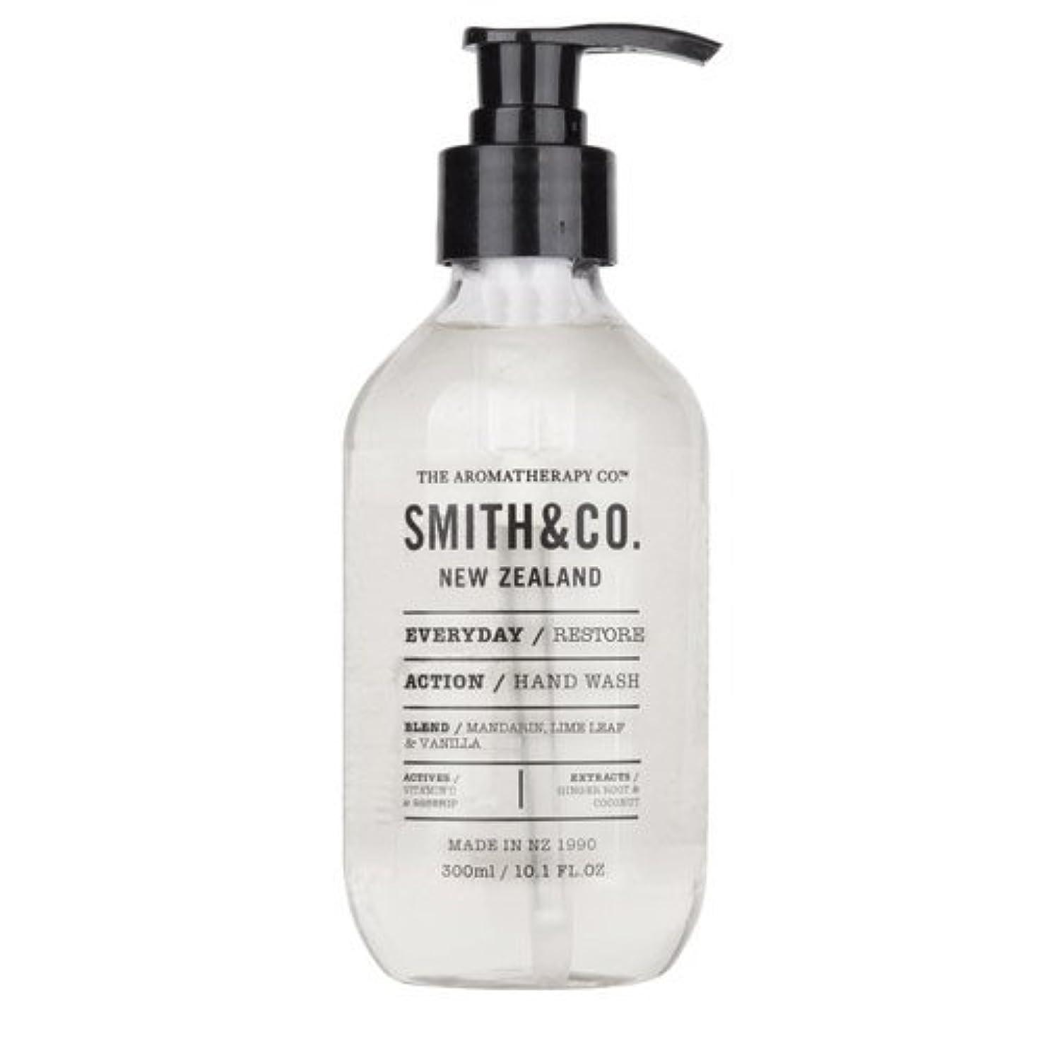 時間とともに新聞発行するSmith&Co. スミスアンドコー Hand&Body Wash ハンド&ボディウォッシュ Restore リストア