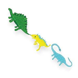 KIYOHARA お気に入り 連続ワッペン 恐竜 約幅9cm×縦2.1cm 1枚入り MOW650