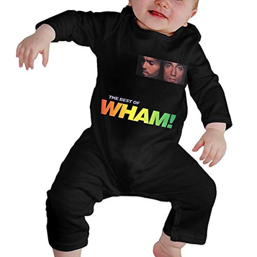 誘惑するサリーすばらしいですBaby's、Kid's、Infant Utility、Cotton ジャンプスーツ、ロンパース、衣類、ボディスーツユニセックスベビークローラーブラック 18M