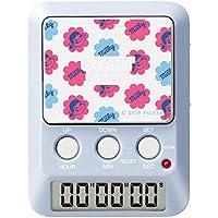 dretec(ドリテック) タイマー 勉強 消音 時計付き デイカウンター ペコちゃんグッズ ブルー T-587BLFADI