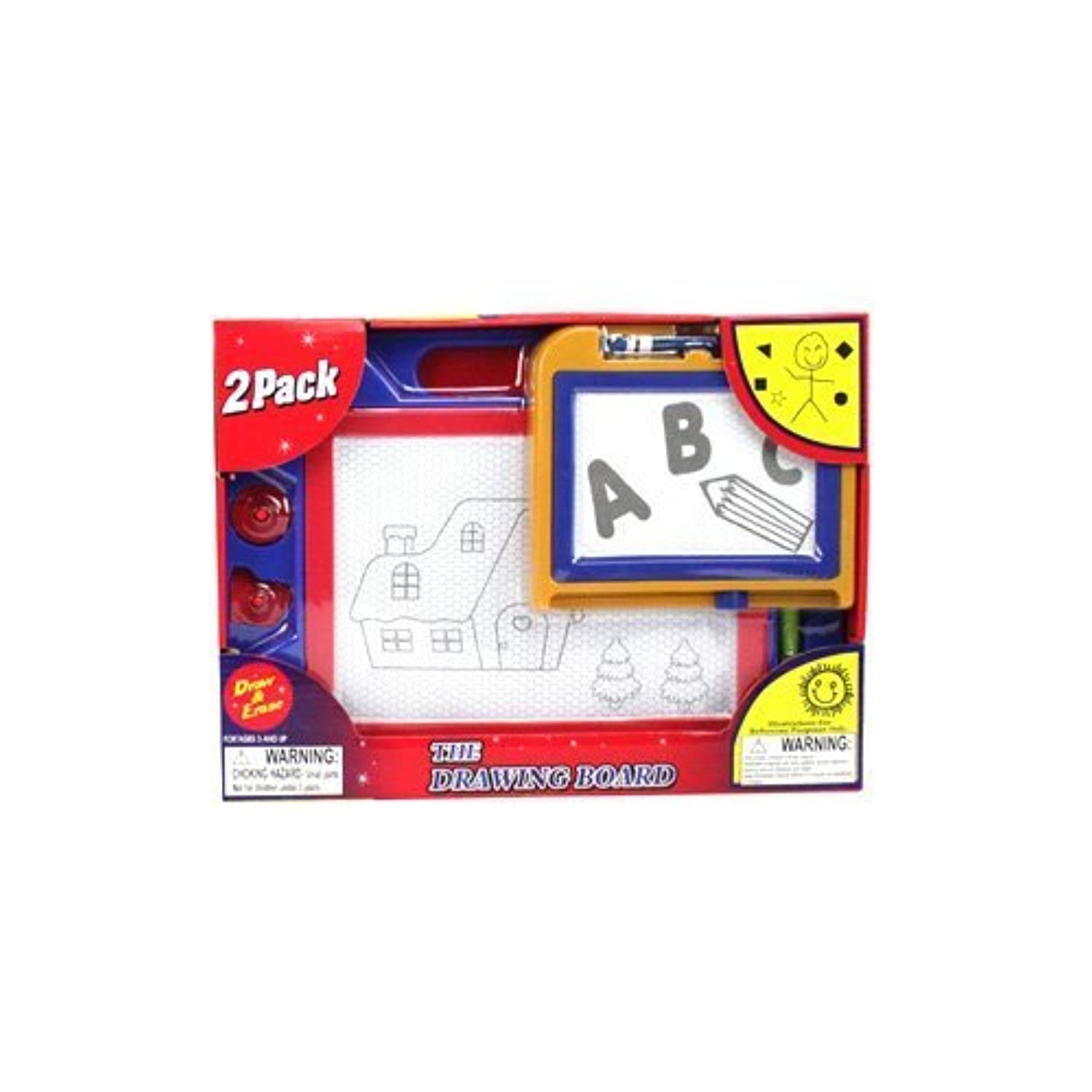 Okk Toys 2 Pack The Drawing Board For Kids Age 3+ ( Color May Vary )
