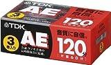 TDK オーディオカセットテープ AE 120分3巻パック [AE-120X3G]