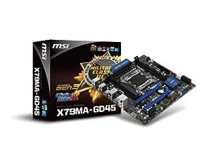 MSI マイクロATX対応メインボード X79MA-GD45