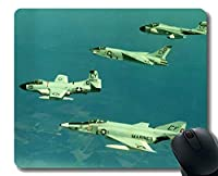 オフィスデスクパッド、航空隊航空機マウスマット、滑り止めラバーベースマウスパッド