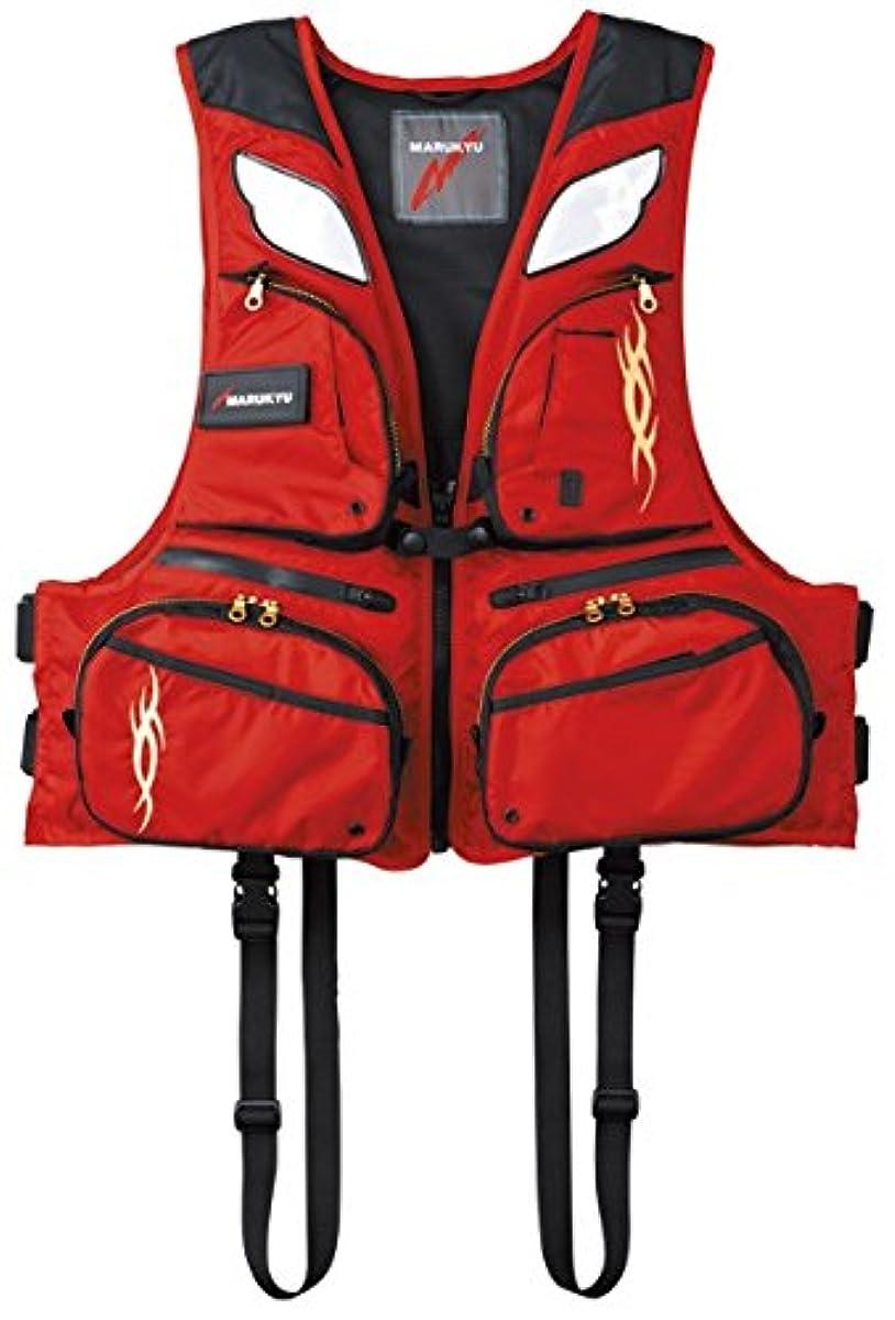 [해외] 말 큐MARUKYU 레져용 라이프 재킷 말기유PFD02 L2 14359 레드-14359