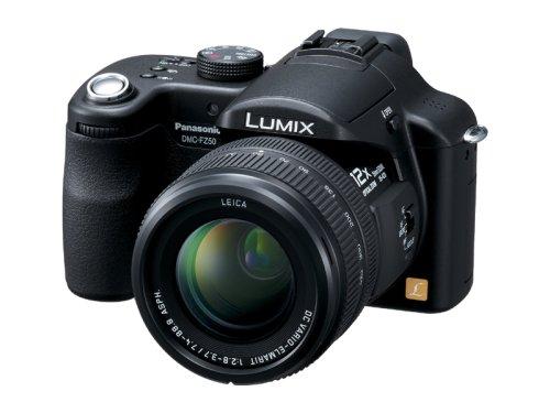 パナソニック デジタルカメラ LUMIX FZ50 ブラック DMC-FZ50-K