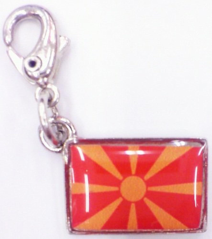 NATIONALFLAG 国旗柄ファスナーホルダー マケドニア 07149-9