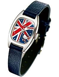キャサリン ハムネット ロンドン×ハローキティ<ユニオンジャック ハローキティ>ダイヤモンド入り腕時計