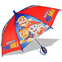 ABG Accessories Paw Patrol Anything is PAW SIBLE 3D Handle Umbrella for Kids Age 3-7