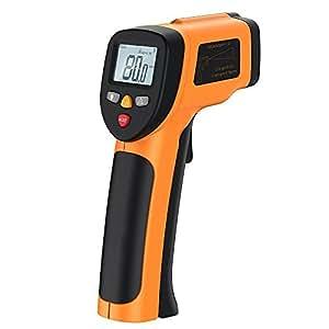 赤外線放射温度計 非接触レーザー温度計 Hokonui (-50°C to 650°C計測可) デシタル測定器 レーザーポイント機能付き ガンタイプ ヨーロッパでよく売れます 正規品 TL-T6