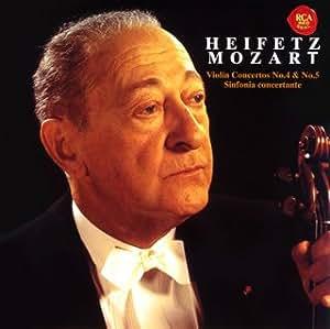 モーツァルト:ヴァイオリン協奏曲第4番&第5番「トルコ風」