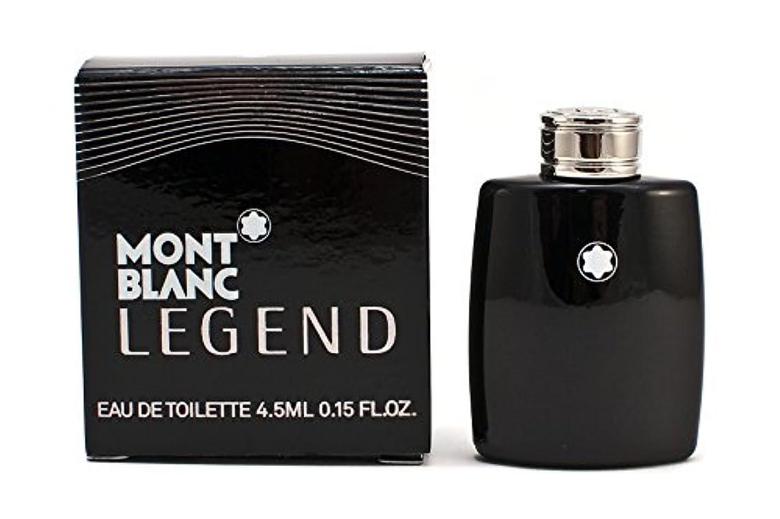 高揚した事業要件モンブラン レジェンド EDT 4.5ml ミニ香水(並行輸入品)