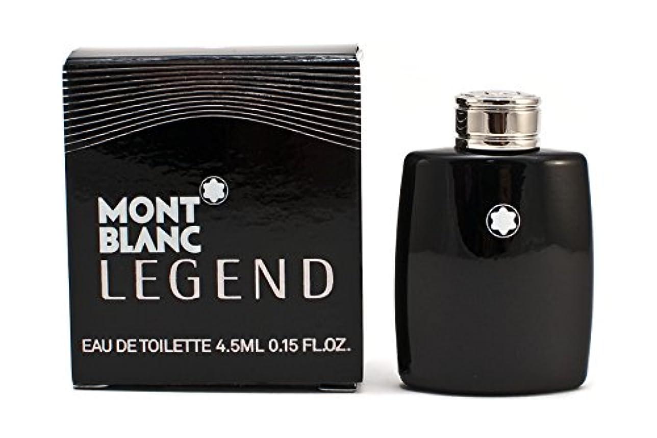 王位エアコンモーターモンブラン レジェンド EDT 4.5ml ミニ香水(並行輸入品)