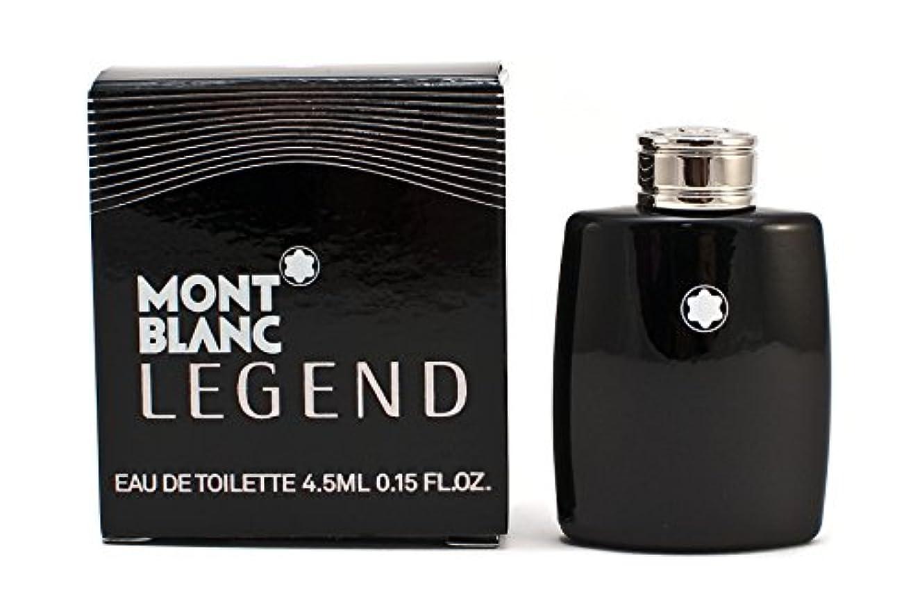 遠いカーフネットモンブラン レジェンド EDT 4.5ml ミニ香水(並行輸入品)