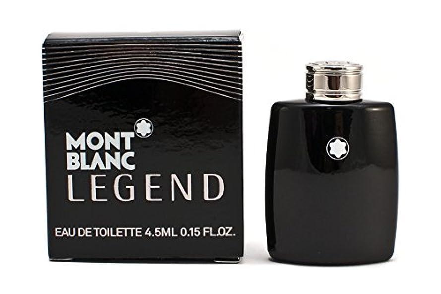 最大のを必要としていますグラフィックモンブラン レジェンド EDT 4.5ml ミニ香水(並行輸入品)