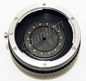 Kernel キャノンEFマウントレンズ-マイクロフォーサーズマウントアダプター(絞り調整対応)【ネットショップ ロガリズム】EF-m43 AA