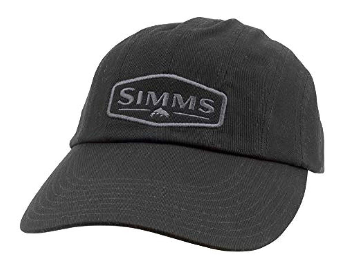 Simms ダブルホールキャップ ブラック