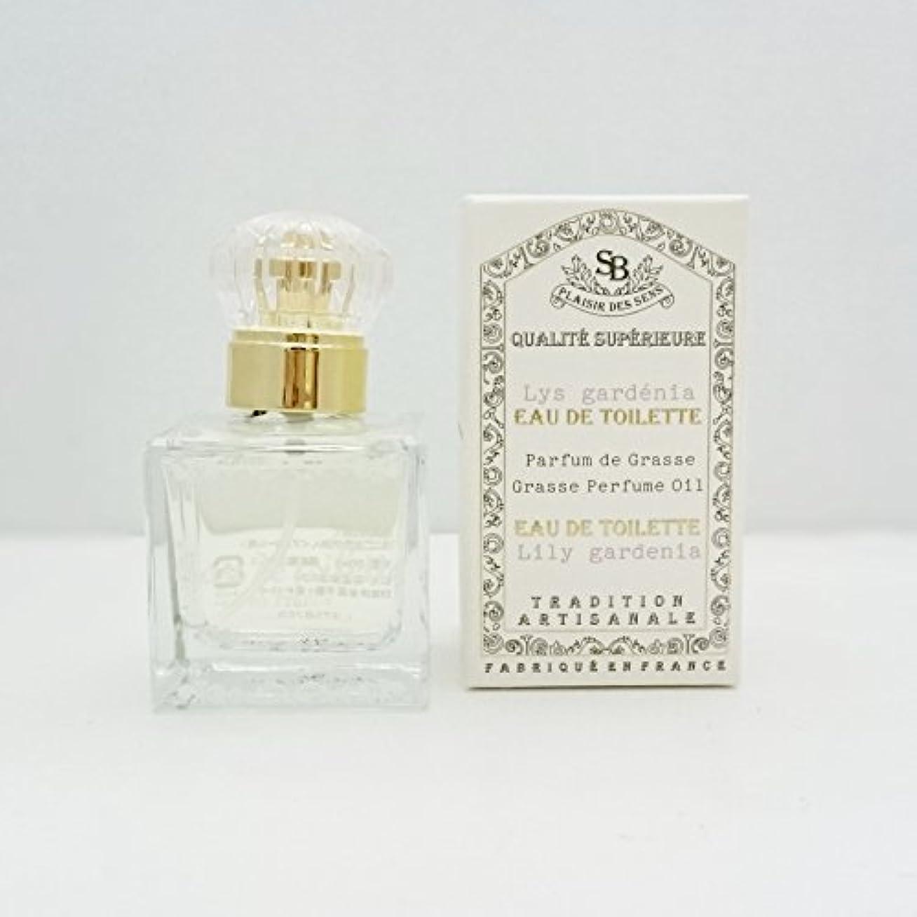 ガラス許さないごみSenteur et Beaute(サンタールエボーテ) フレンチクラシックシリーズ オードトワレ 30ml 「リリーガーデニア」 4994228021915
