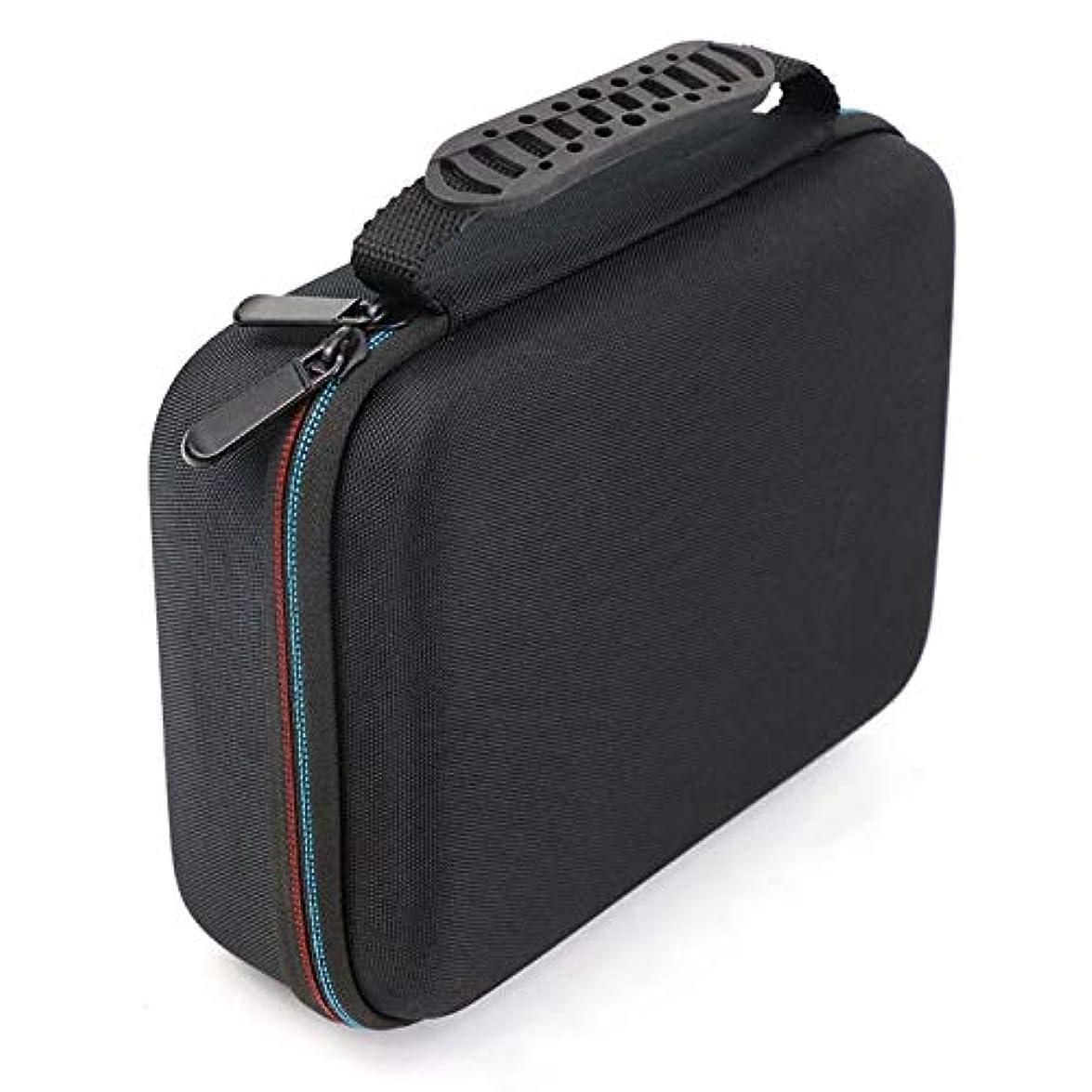 図休憩する雪SODIAL バリカンの収納ケース、携帯用ケース、耐衝撃バッグ、シェーバーのキット、Evaハードケース、収納バッグ、Mgk3020/3060/3080用