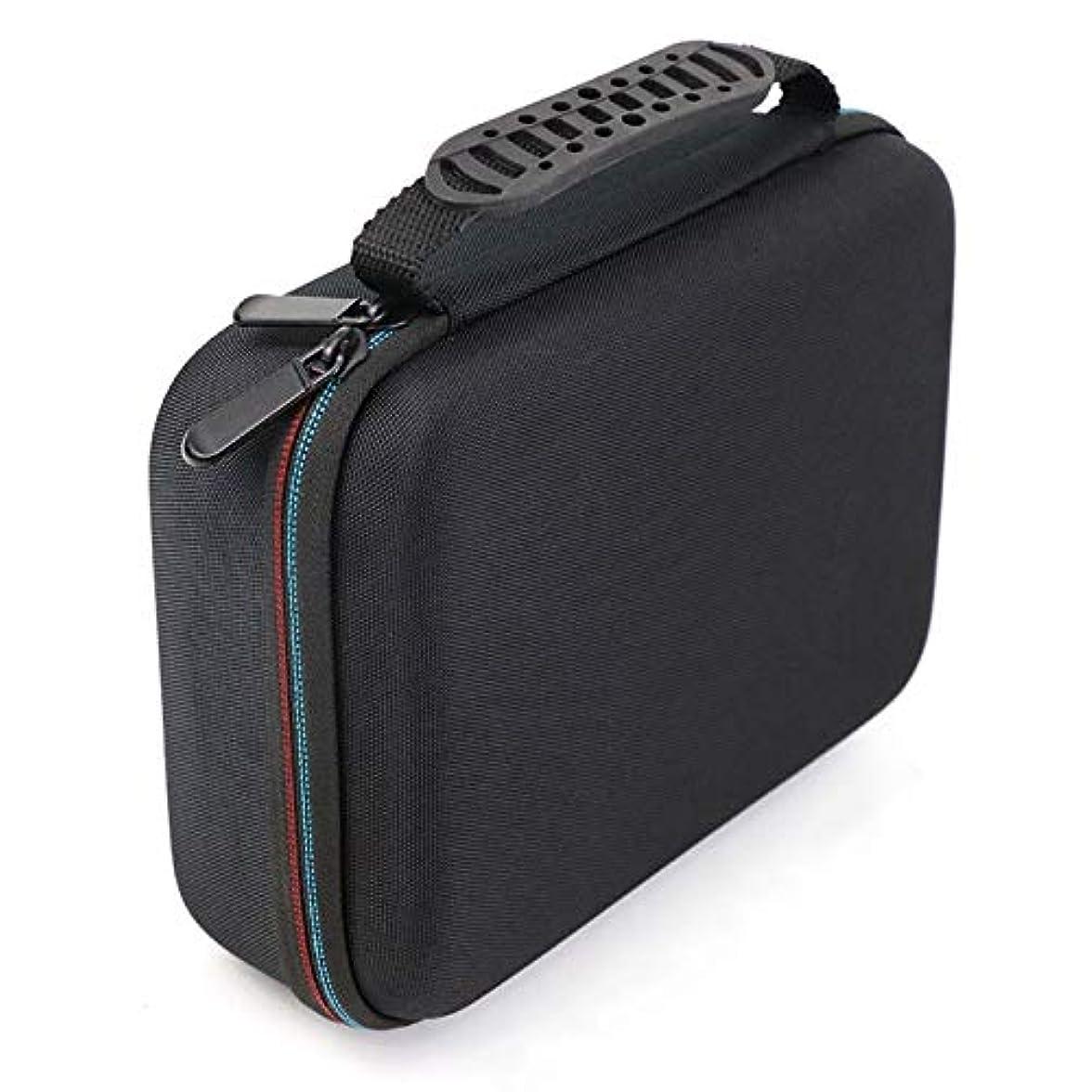 落花生明らかにする老人SODIAL バリカンの収納ケース、携帯用ケース、耐衝撃バッグ、シェーバーのキット、Evaハードケース、収納バッグ、Mgk3020/3060/3080用