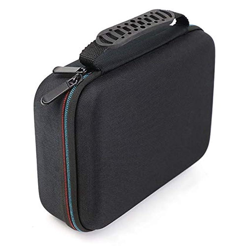 ミケランジェロ木製カフェGaoominy バリカンの収納ケース、携帯用ケース、耐衝撃バッグ、シェーバーのキット、Evaハードケース、収納バッグ、 Mgk3020/3060/3080用