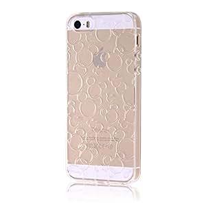 レイ・アウト iPhone SE / iPhone5s / iPhone5 ケース ディズニー TPUソフトケース キラキラ クリア RT-DP11A/MFC