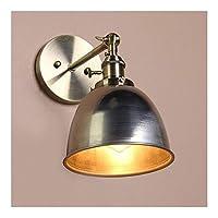Huahan Extension ウォールライト ブラケットライト 壁掛照明/壁掛け照明/壁付け照明 アンティーク 居間照明 工業用 レトロ照明器具 階段 廊下 寝室 ダイニング用 シルバー