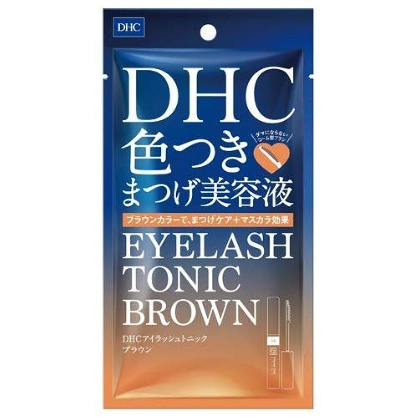 建設垂直糞DHC アイラッシュトニック ブラウン 6g × 24個セット