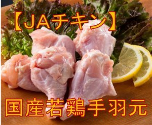 全農チキンフーズ株式会社 JAチキン手羽元(鹿児島、宮崎産) 冷凍品 2kg×6P
