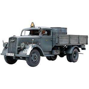 タミヤ 1/35 ミリタリーミニチュアシリーズ No.291 ドイツ陸軍 3トン 4×2 カーゴトラック プラモデル 35291