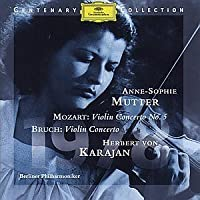 Anne-sophie Mutter: Mozart Violin Concerto No. 5, Bruch Violin Concerto by violin Anne-Sophie Mutter (1993-07-28)