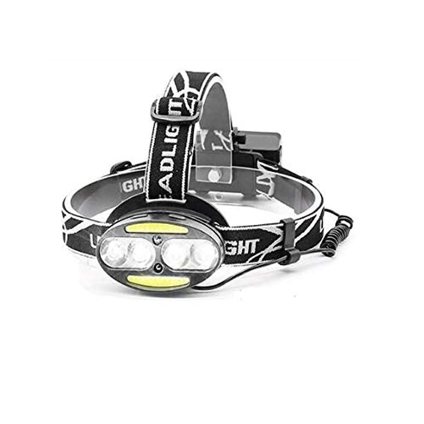 山岳無駄なただやる1stモール LED ヘッドライト 充電式 ヘッドランプ 5000ルーメン 5点灯モード 防水 角度調節 ST-MOTIONHEAD