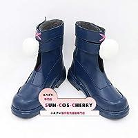 【サイズ選択可】コスプレ靴 ブーツ Z2-0311 ドールズフロントライン Dolls' Frontline 少女前線 MP7 戦術人形 男性28CM