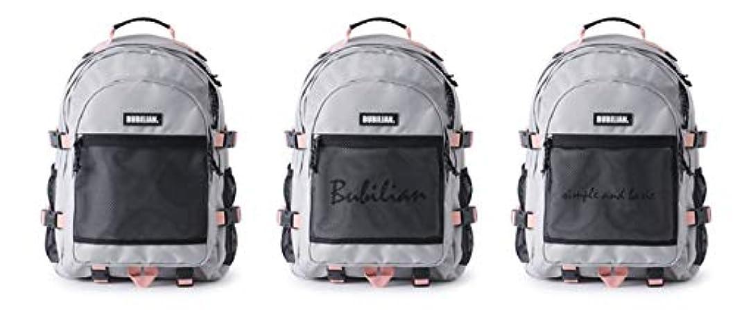 精算作り上げる監査Bubilian Two Much 3D Backpack リュックバッグバックパック大容量旅行通学遠足ユニセックスバッグ多機能バッグ(海外直送品)