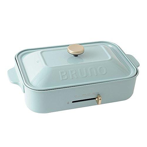BRUNO コンパクトホットプレート ブルーグレー BOE021-BGY