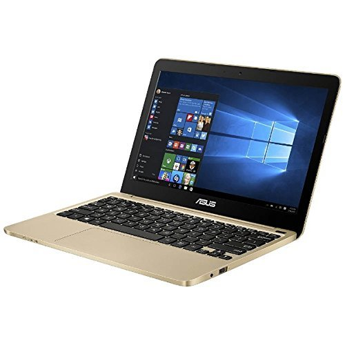 ASUS 11.6型 ベーシックモバイルノートブック VivoBook ゴールド E200HA-83...
