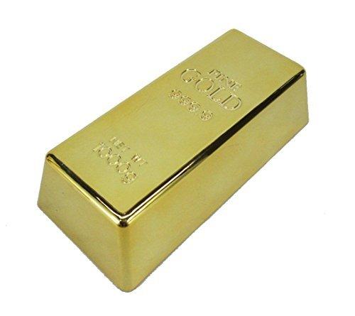 本物?! あの金塊がご自宅の玄関に! ゴールドバー風 ドアストッパー