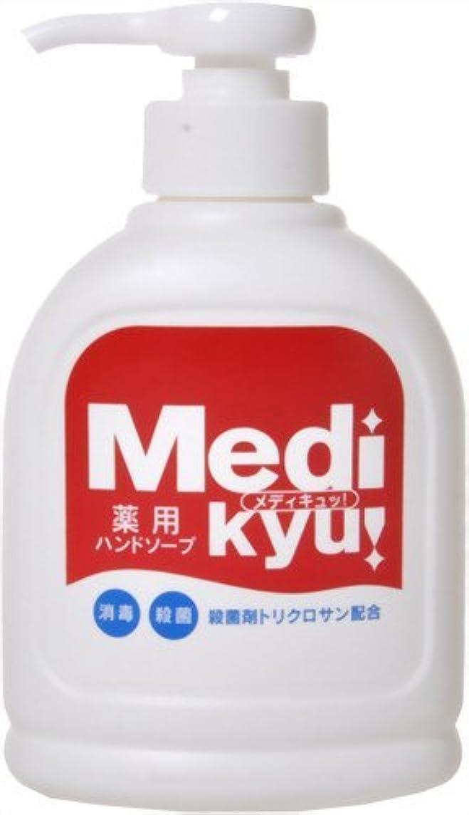 上がる採用する災害【まとめ買い】薬用ハンドソープ メディキュッ 250ml ×4個