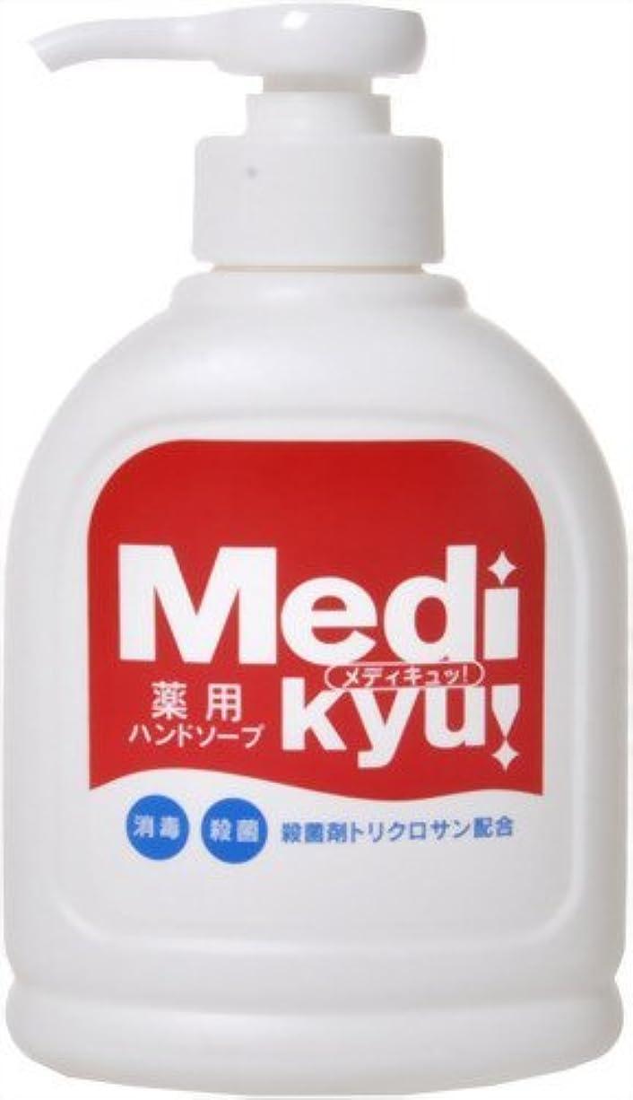 販売員ライムマイルド【まとめ買い】薬用ハンドソープ メディキュッ 250ml ×4個