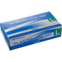 共和 プラスチック手袋 粉付 No.1000 L 10箱